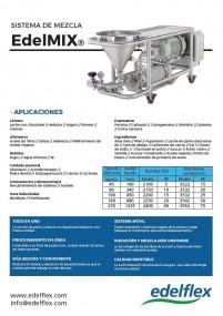 Sistema de mezcla EdelMIX - Edelflex