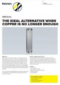 THE IDEAL ALTERNATIVE WHEN COPPER IS NO LONGER ENOUGH