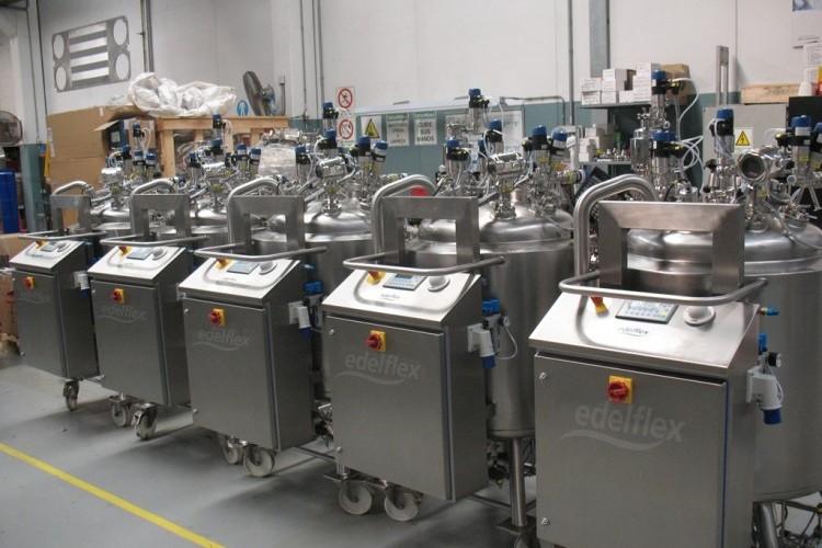 Edelflex - Reactores móviles farmacéuticos