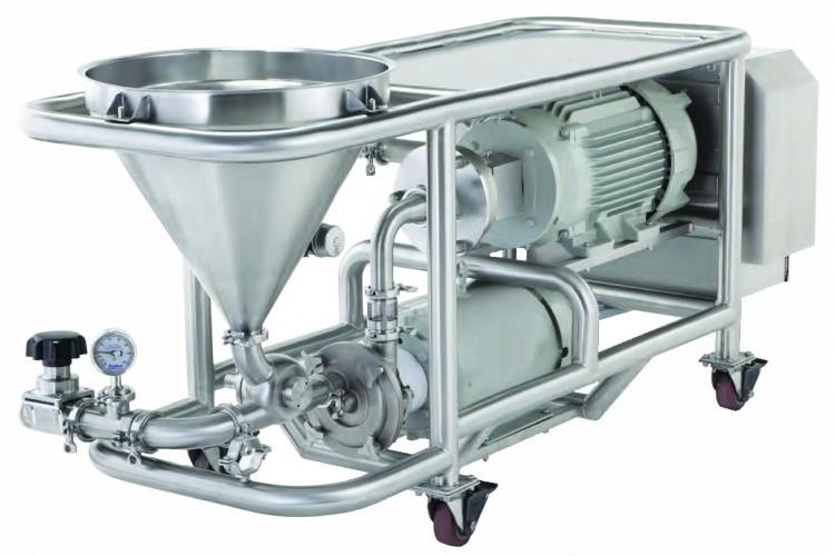 Sistema de mezcla de sólidos y líquidos EdelMIX - Edelflex