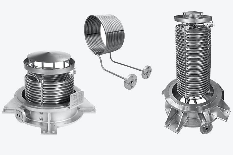 Edelflex - intercambiadores de calor Tantec fabricados en tantalio