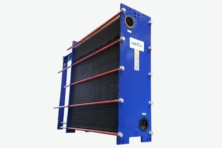 Edelflex - intercambiador de calor ARAX modelo free flow