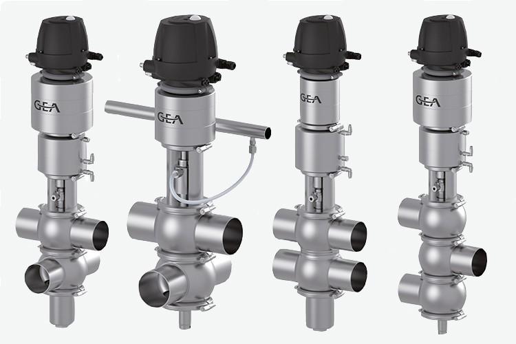 Edelflex - Válvula higiénica doble asiento GEA Varivent