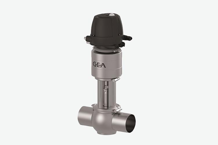 Edelflex - Válvula higiénica simple asiento GEA Varivent