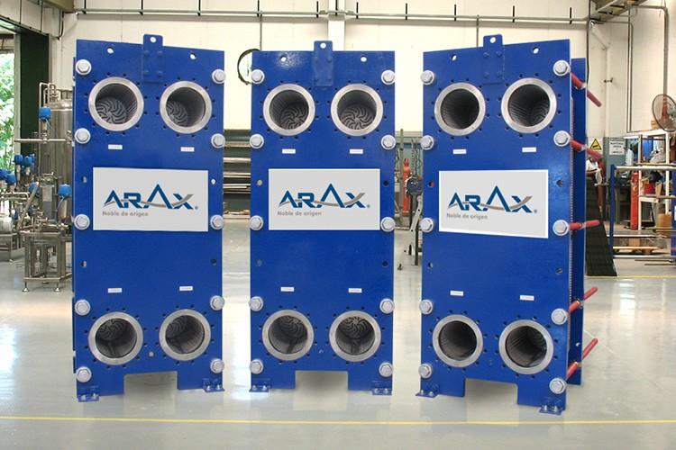 Edelflex - intercambiador de calor ARAX modelo NT