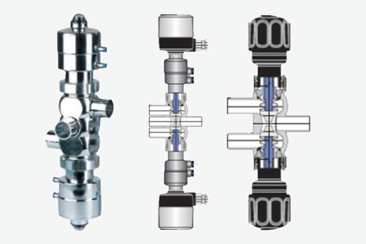 Edelflex -Válvulas asépticas bloque GEA VESTA