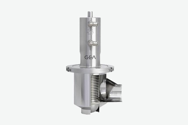 Edelflex - Válvula aséptica contrapresión GEA Aseptomag