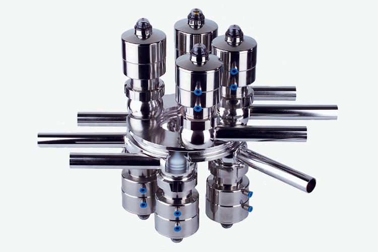 Edelflex -Sistema de válvulas asépticas Multiport GEA VESTA